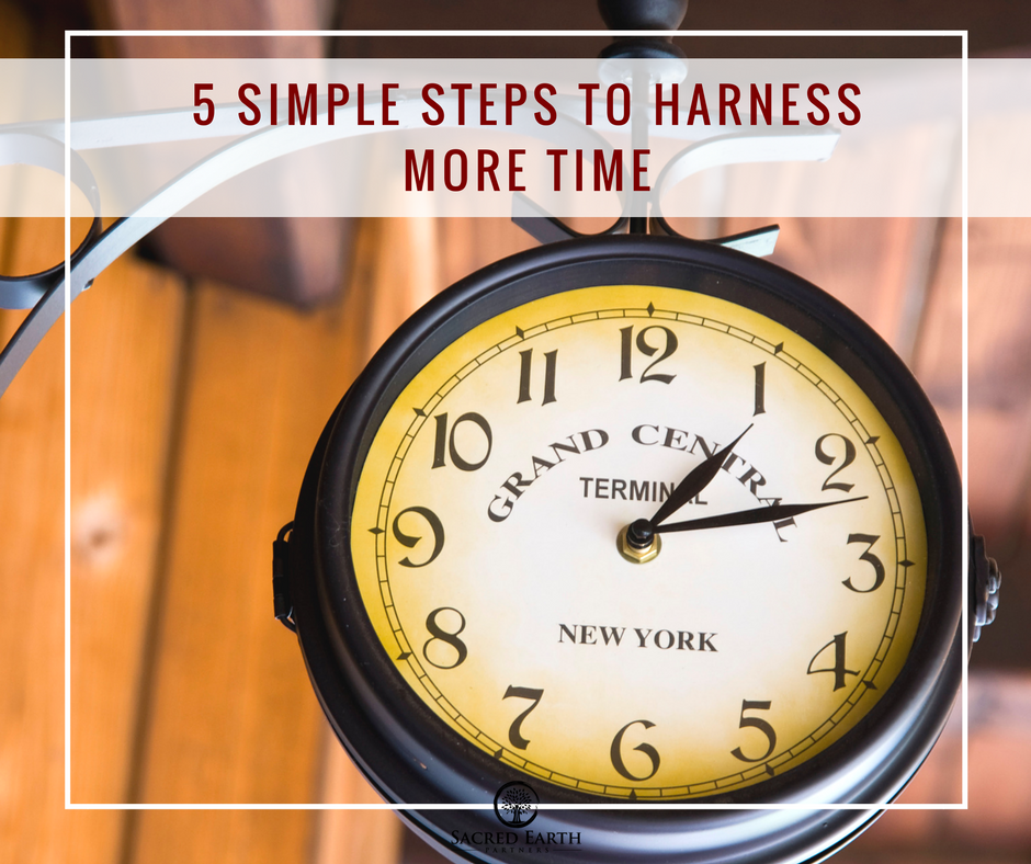 5 Simple Steps to Harness More Time