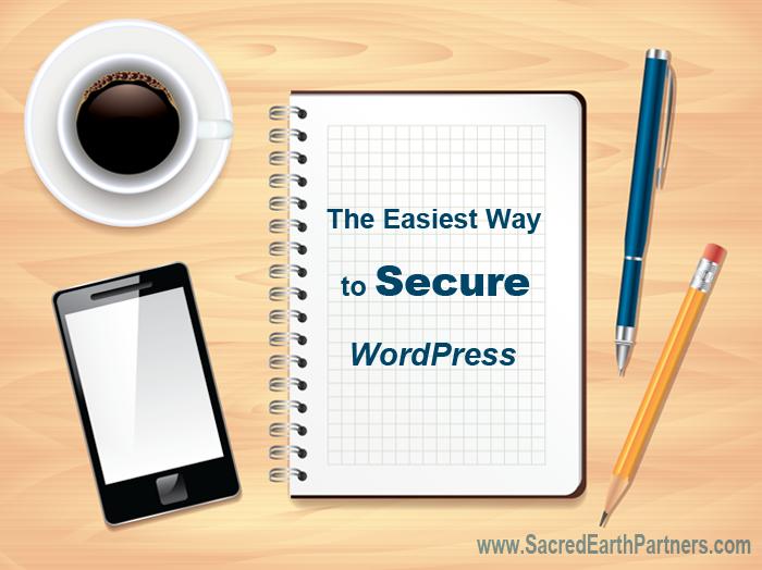 The Easiest way to secure wordpress
