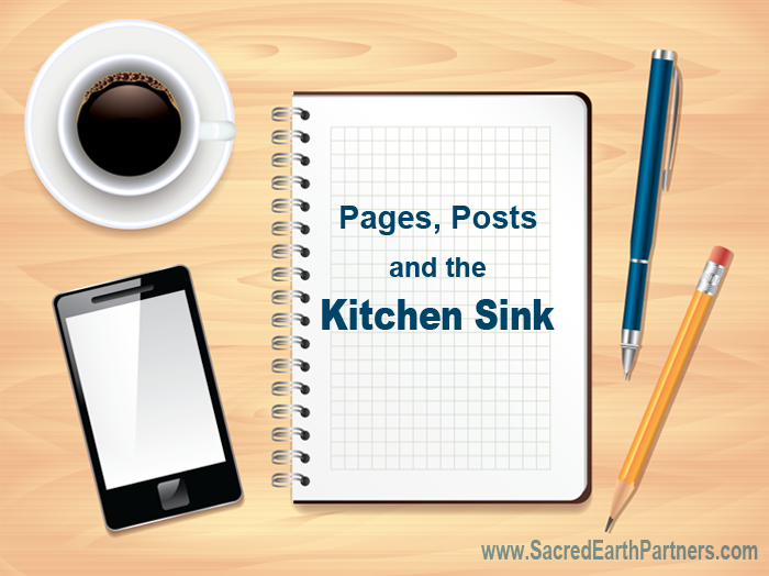 pages post and the kitchen sink