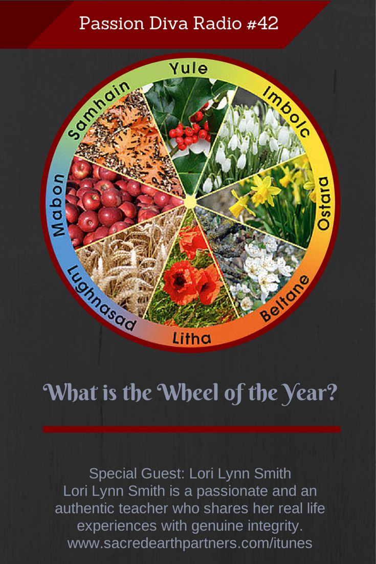 PDR 42 – What is the Wheel of the Year? with Lori Lynn Smith