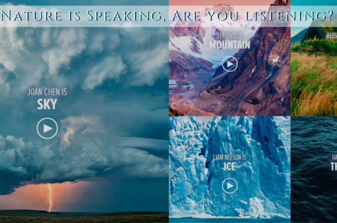 Nature is Speaking, Are you listening?